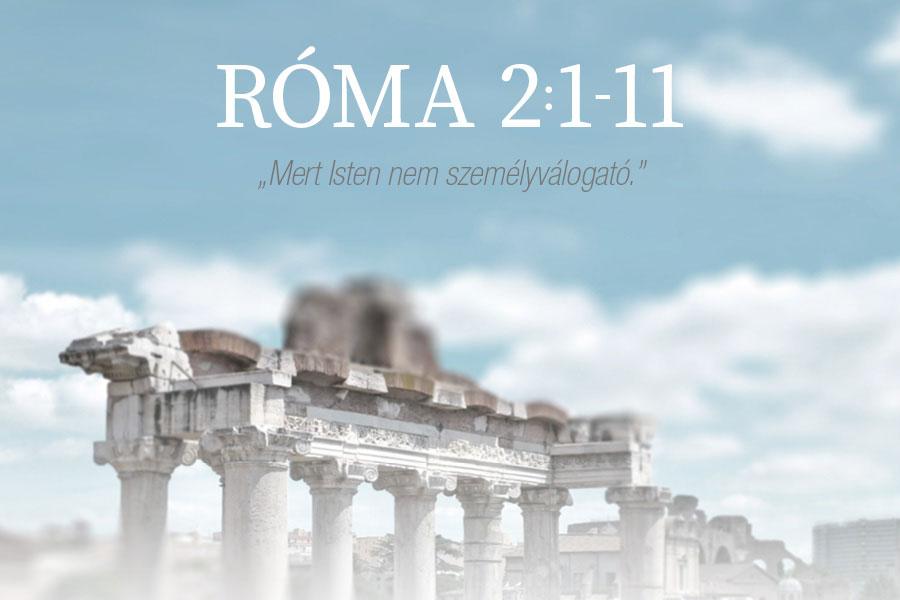 Róma 2:1-11. – Kübler János