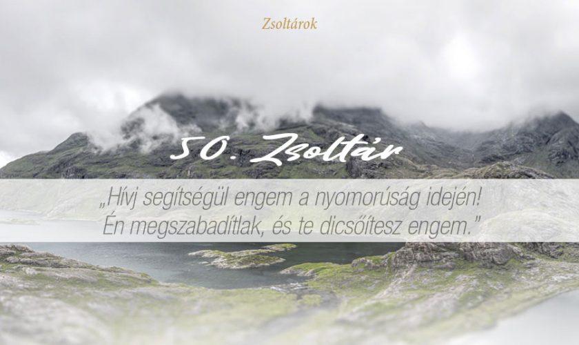 Zsoltárok 50. – Marton Zsolt