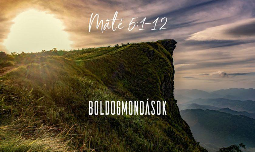Máté 5:1-12 – Kübler János
