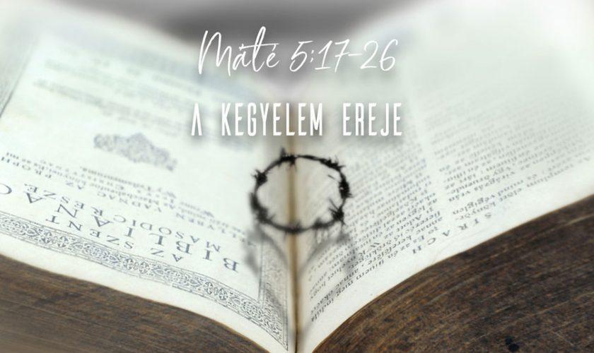 Kübler János – Máté 5:17-26
