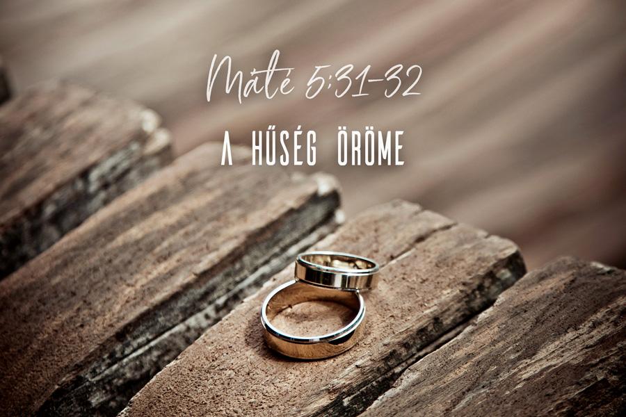 Kübler János – Máté 5:31-32, 19:3-9