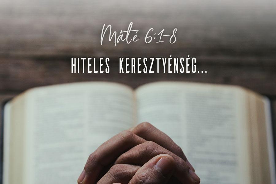 Kübler János – Máté 6:1-8