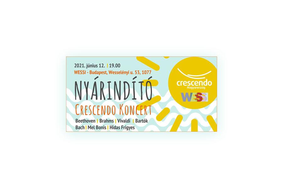 Crescendo Nyárindító Koncert a Wessiben