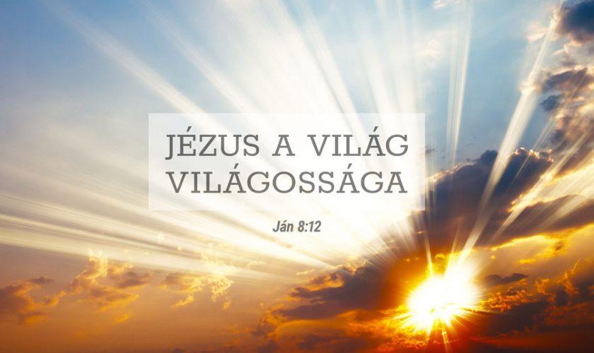 Kübler János – János 8:12