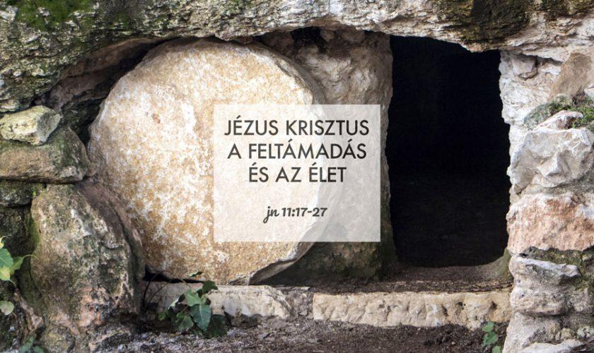 Kübler János – János 11:17-27