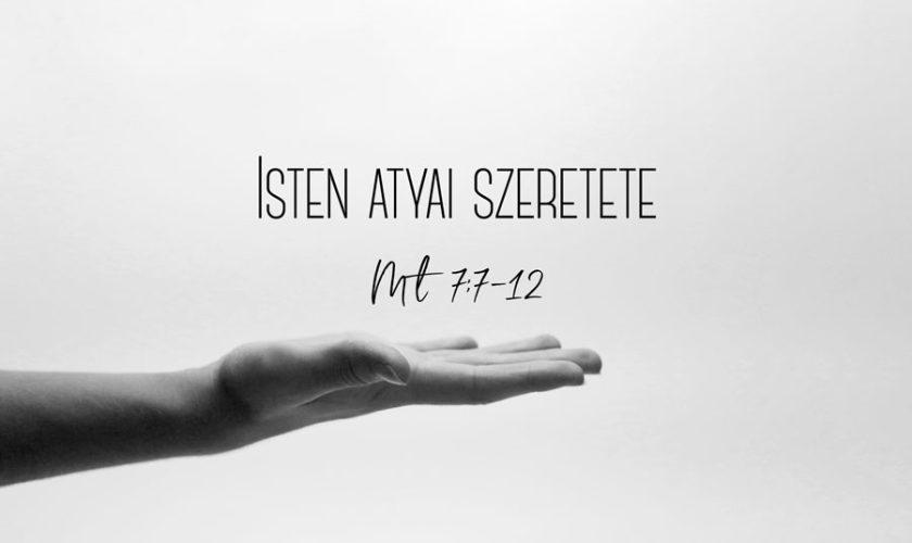 Kübler János – Máté 7:7-12