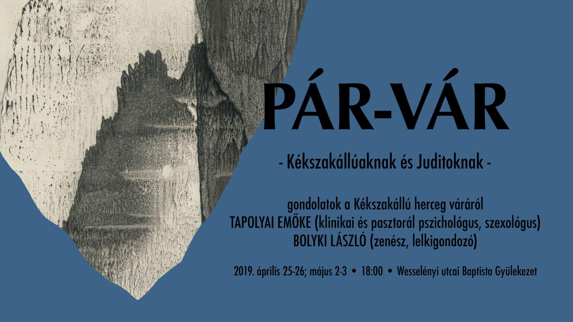 PÁR-VÁR előadás sorozat