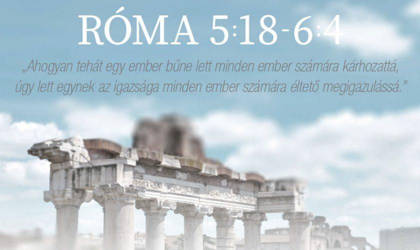 Róma 5:18 – 6:4 – Kübler János