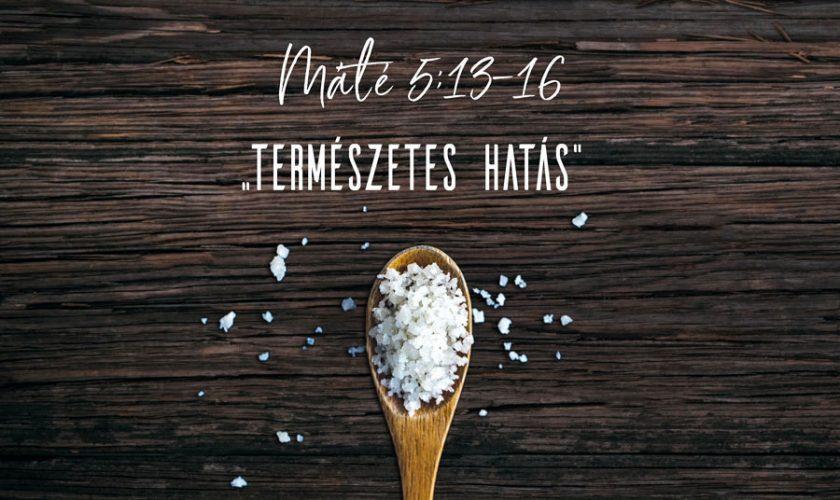 Máté 5:13-16 – Kübler János