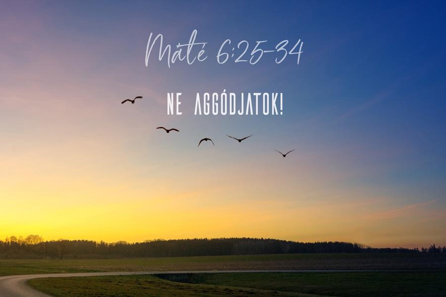 Kübler János – Máté 6:25-34