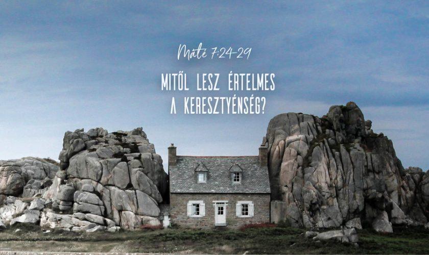 Kübler János – Máté 7:24-29.