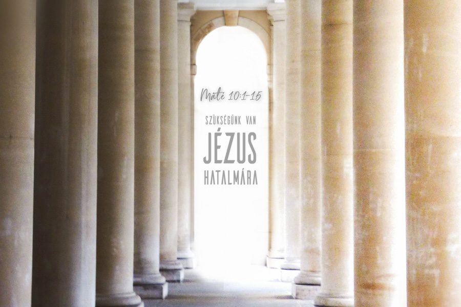 Kübler János – Máté 10:1-15.