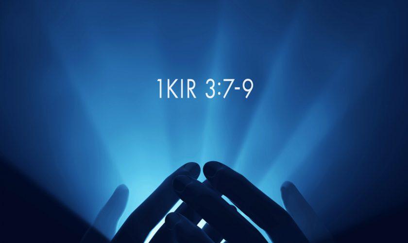 Marton Zsolt – I. Királyok 3:7-9